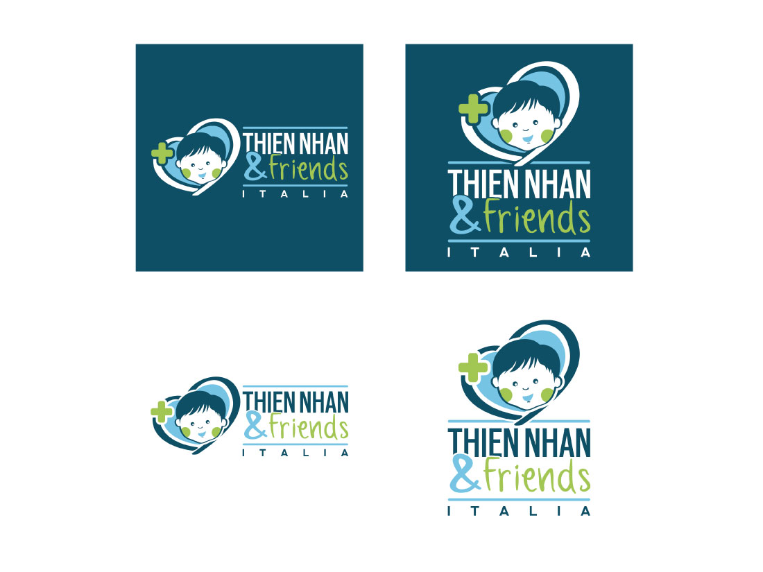 Logo Design THien Nhan & Friends