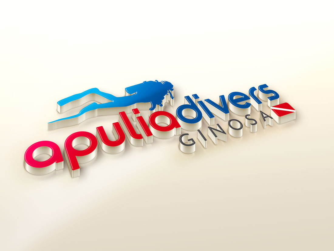Apulia Divers: logo design
