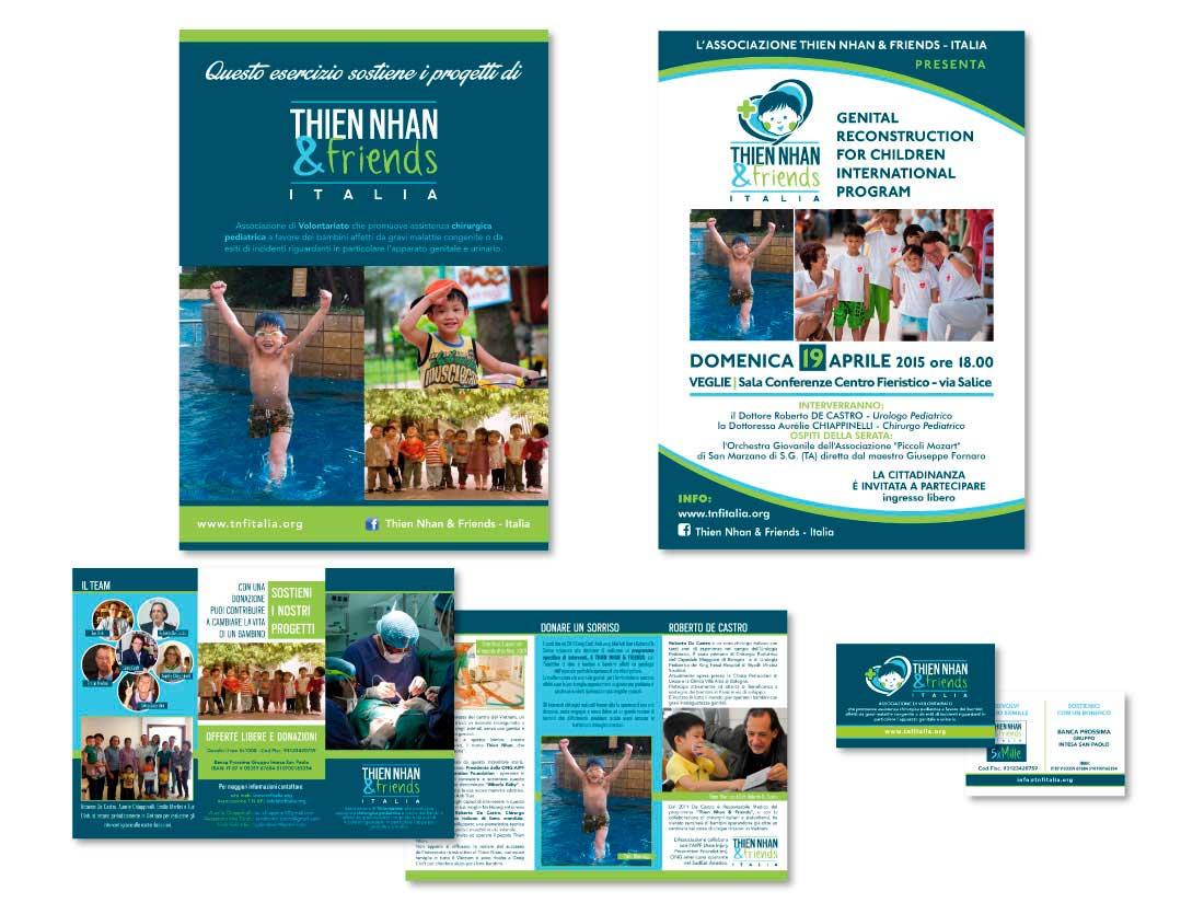 Thien Nhan & Friends: progettazione e stampa pieghevoli, manifesti, bigliettini da visita, ecc.