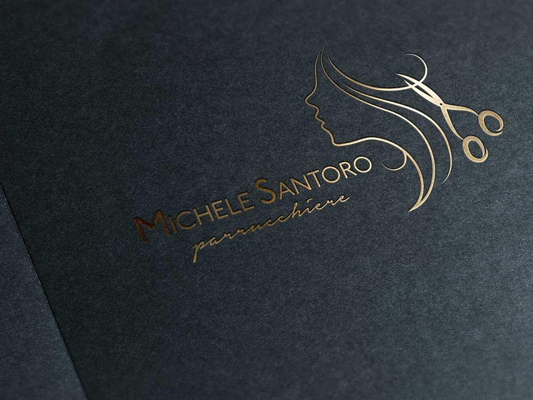 Michele Santoro Parrucchiere - Logo