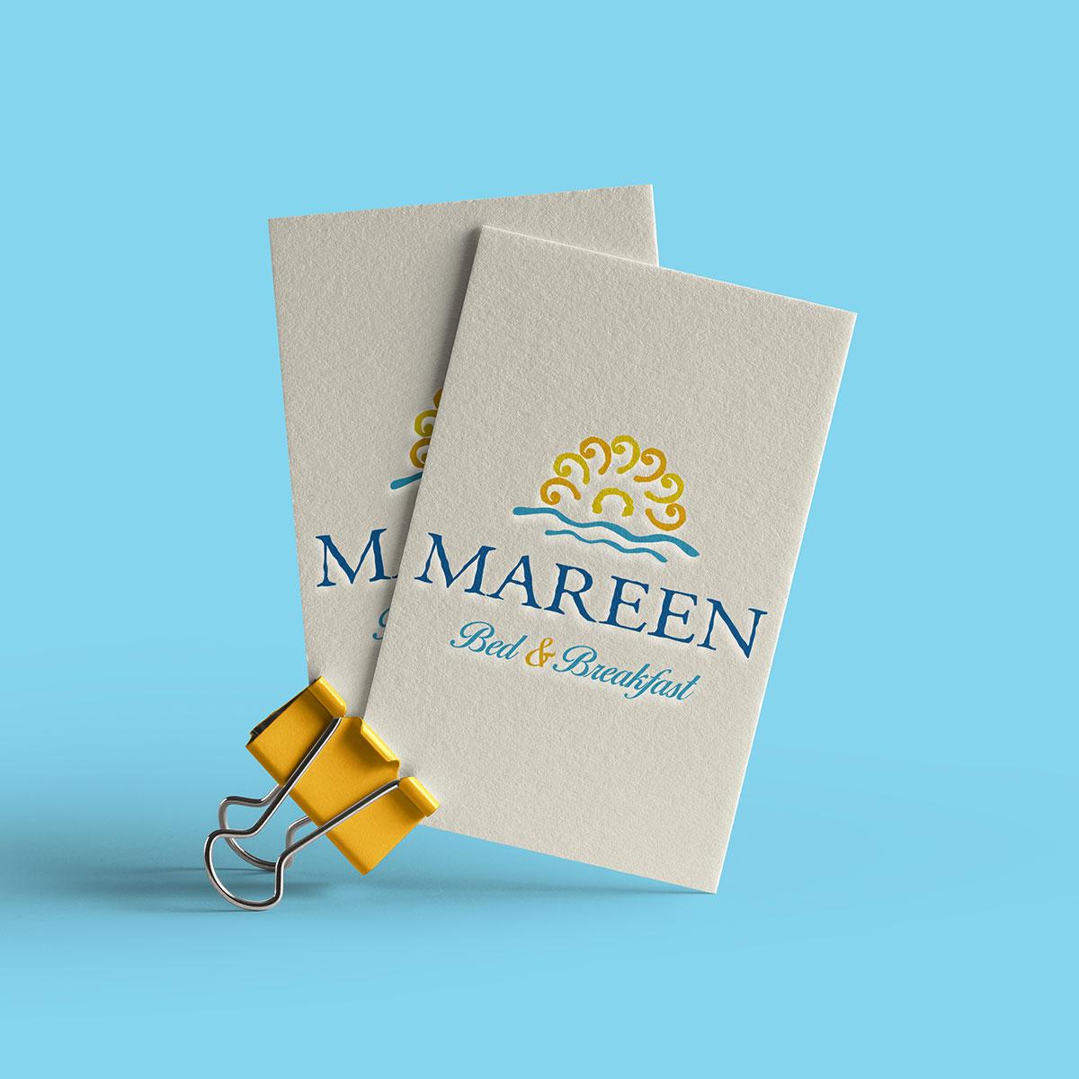 Logotipo Mareen B&B