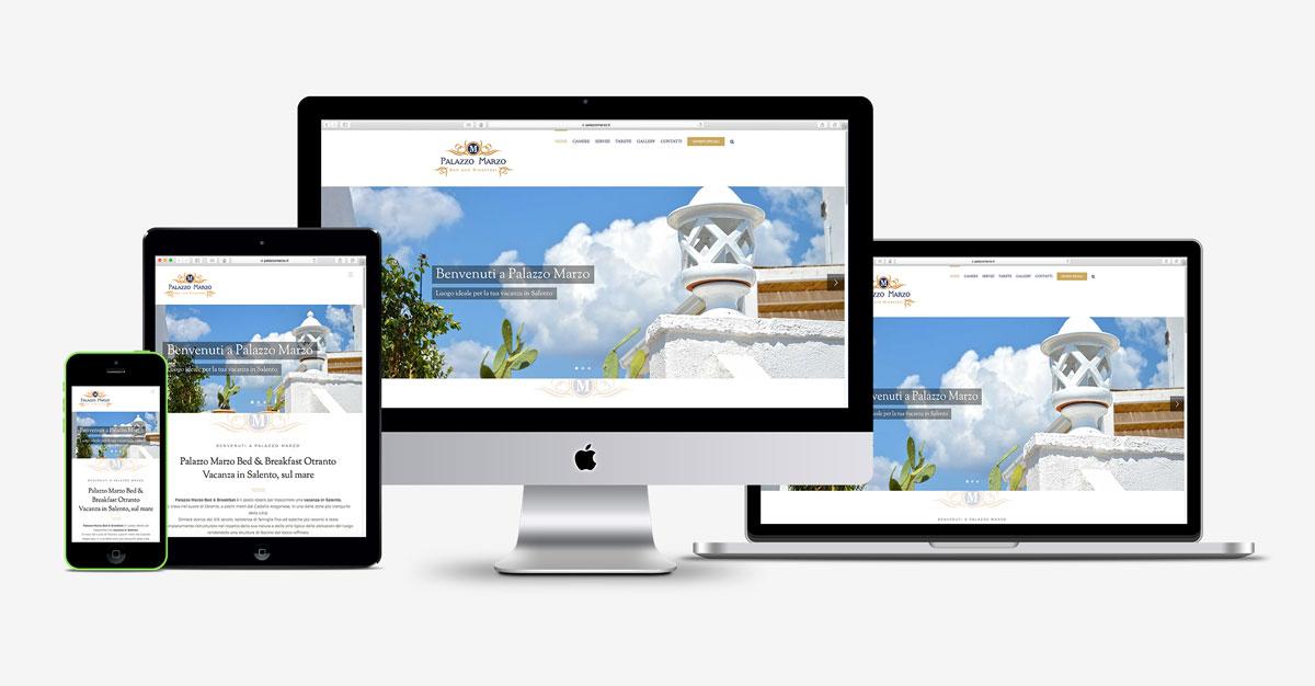 Palazzo Marzo b&b sito web