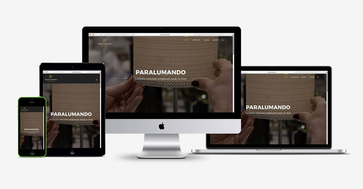 paralumando light design sito web